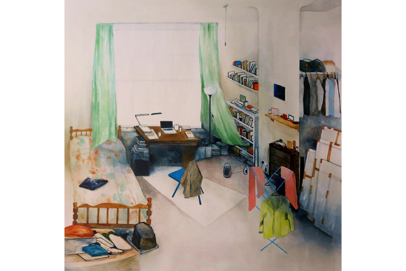 Ting-Chun Chen    Their Rooms Oil on Canvas, 2013