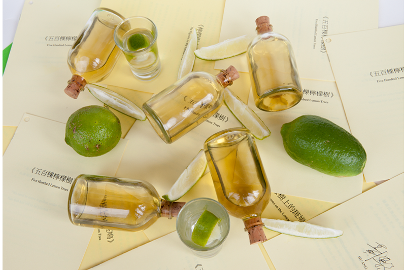 Po-Chih Huang    Five-Hundred Lemon Trees Mixed Media, 2013