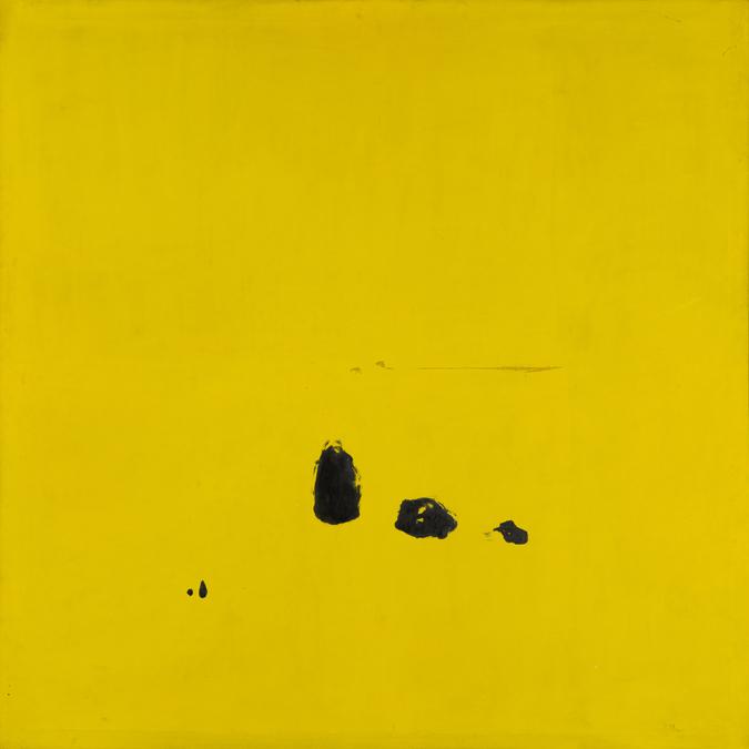李元佳  | 無題 油彩、畫布, 1962 150 x 150 cm 私人收藏 的圖說