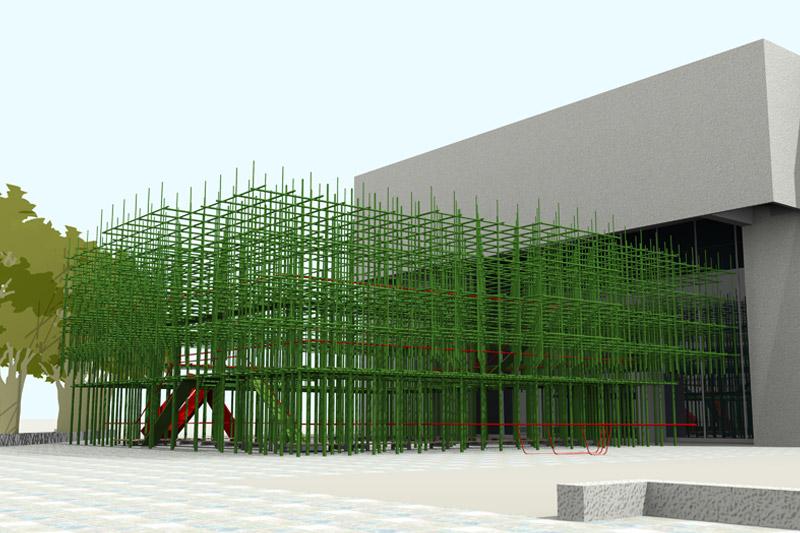 陳宣誠+任大賢+蘇富源建築師事務所  | 邊緣地景—感覺的物質線 的圖說