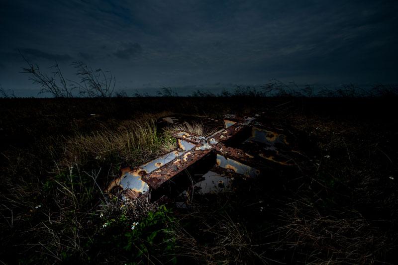 林厚成  | 既存於遠方的記憶 - 台西 攝影輸出, 2013  藝術家自藏 的圖說
