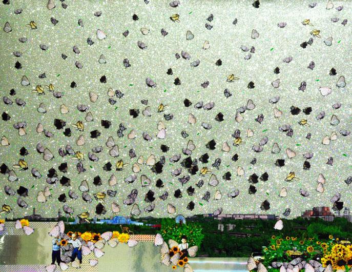 杜珮詩  | 核能世界 混合媒材拼貼, 2015  藝術家自藏 的圖說