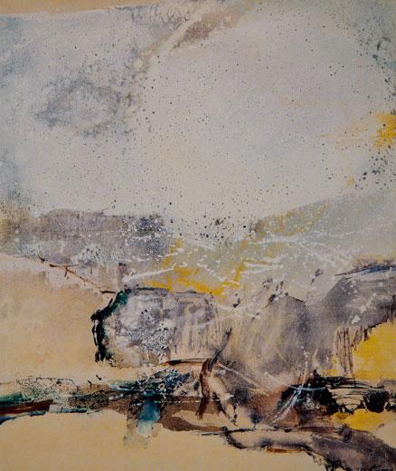 CHUANG CHE    Mist Acrylic and oil on canvas, 1971 127 x 105 cm