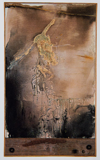 CHUANG CHE    Isolation Mixed media, 1991 165 x 104 cm