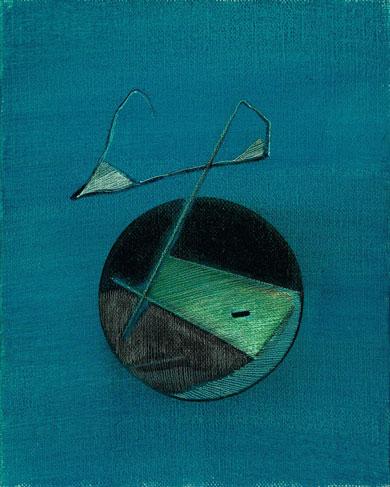 霍剛    無題 油彩 畫布, 1984 50x40cm