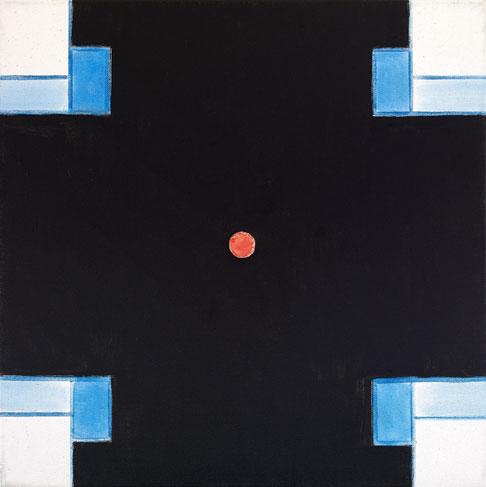 霍剛    視界2 油彩 畫布, 2010 50x50cm