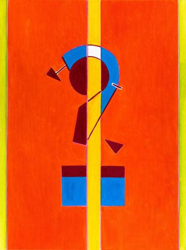 霍剛    十五之三 油彩 畫布, 2015 130x97cm