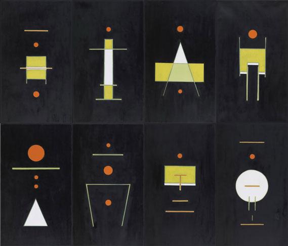 霍剛    集1~8 油彩 畫布, 2009 240x280cm(x8)