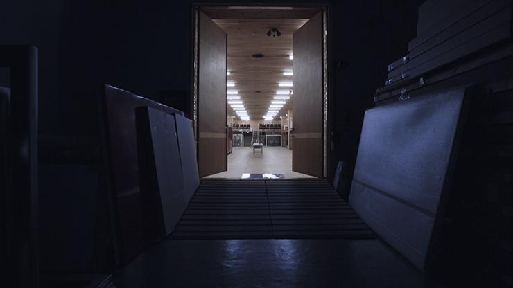 袁廣鳴  | 沈睡中的典藏風景 錄像, 2016 的圖說