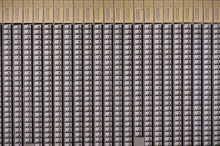 謝德慶  | 一年行為表演1980-1981 行為表演,紐約, 1980-1981  攝影:雨果•葛蘭丁寧