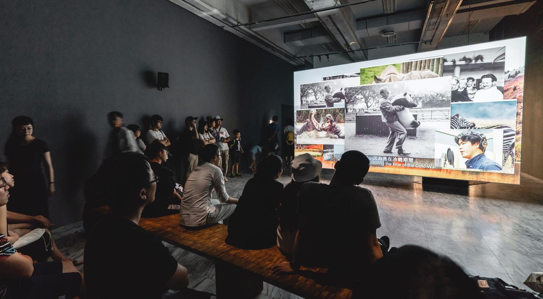 HSU Chia-Wei    Black and White - Giant Panda Single-Channel Video Installation, 2018 Installation View