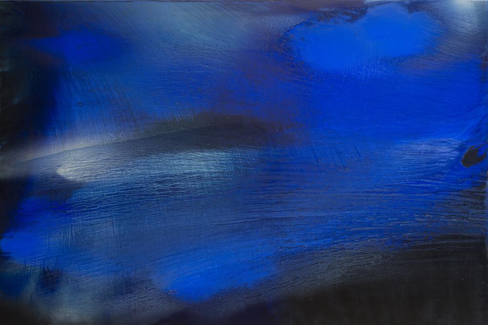 江賢二  | 比西里岸之夢 11-41 油彩/畫布, 2011 200 x 300 cm  藝術家自藏 的圖說