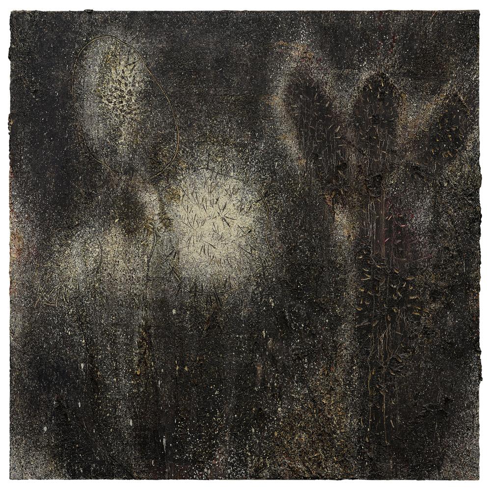 江賢二  | 加利福尼亞 01-05 油彩/畫布, 2001 122 x 122 cm 私人收藏 的圖說