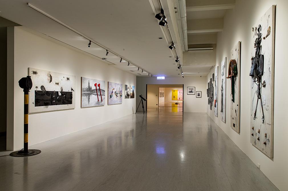 「大遷徙:盧明德」《港都意象》展場  2021  ©臺北市立美術館 的圖說