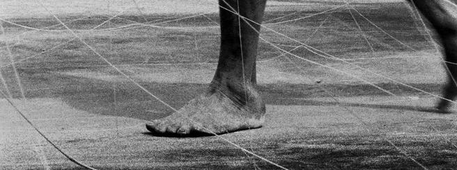 曾敏雄, 無酸百年紙基相紙    阿伯的腳 (鹿港)   1998, 藝術家自藏 的圖說