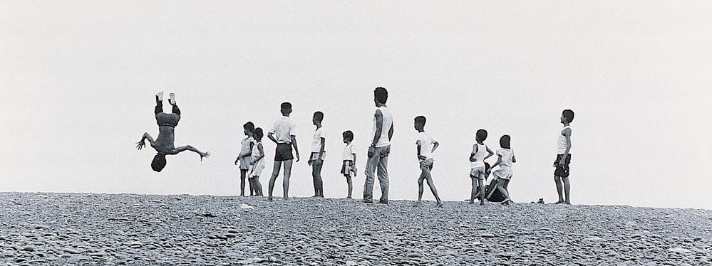 阮義忠, 銀鹽相紙    人與土地-旭海   1986, 臺北市立美術館收藏 的圖說